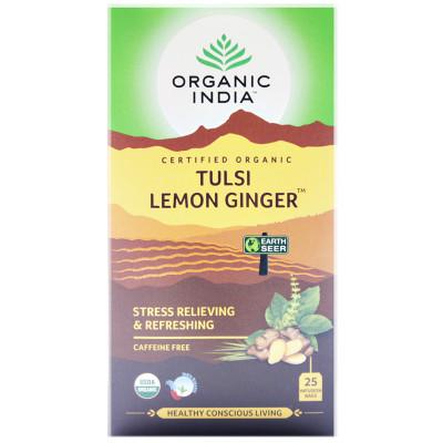 Tulsi Tea Lemon Ginger