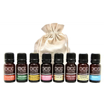 Organico by Oco Life Complete Kit of Organic Oil Blends