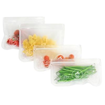 Pouch Love Reusable Sandwich & Snack Bag Set