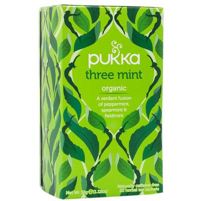 Pukka Three Mint Organic Tea