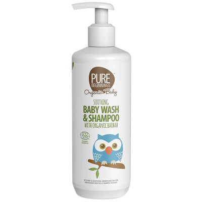 Pure Beginnings Soothing Baby Wash & Shampoo with Organic Baobab