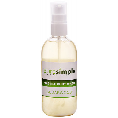 Pure Simple Cedarwood Castile Body Wash