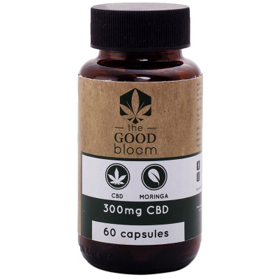 The Good Bloom CBD & Moringa Capsules
