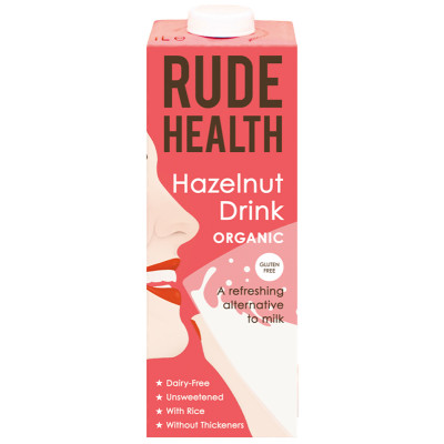 Rude Health Hazelnut Drink - 1 Litre