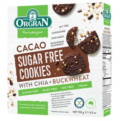 Orgran Cacao Cookies - Sugar Free