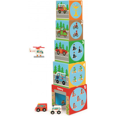 Scratch Stacking Tower On The Road