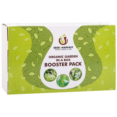 Seed 2 Harvest Organic Garden Booster Pack