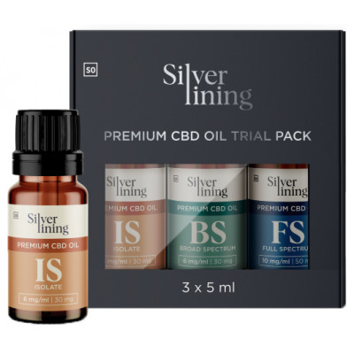 Silver Lining CBD Oil Trial Pack