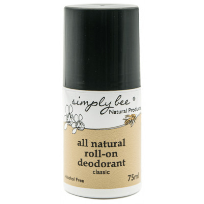 Simply Bee All-Natural Roll-On Deodorant