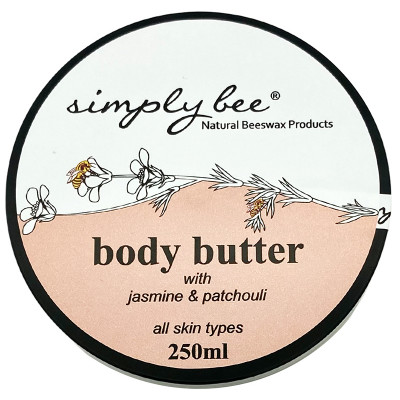 Simply Bee Body Butter - Jasmine & Patchouli