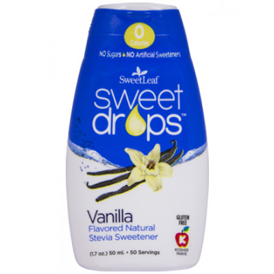 SweetLeaf Vanilla Sweet Drops