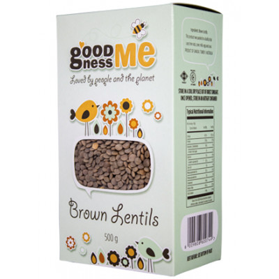Goodness Me Brown Lentils
