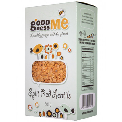 Goodness Me Red Split Lentils