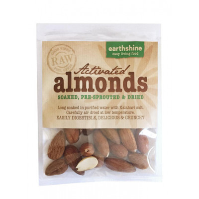 Earthshine Activated Almonds Snack Pack