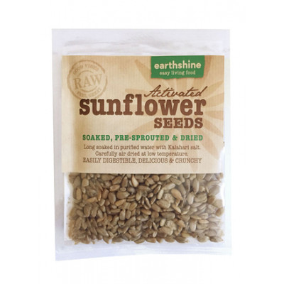 Earthshine Activated Sunflower Seeds Snack Pack