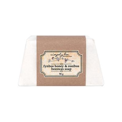Simply Bee Fynbos Honey & Rooibos Beeswax Soap