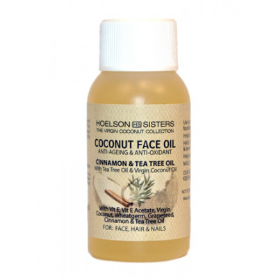 Coconut Collection Face Oil with Cinnamon & Tea Tree