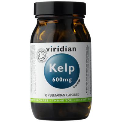 Viridian Organic Kelp 600mg Veggie Capsules