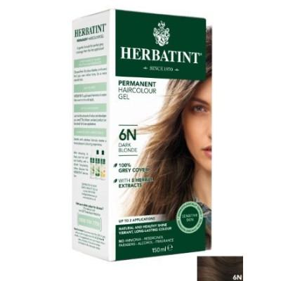 Herbatint Hair Colours - 6N Dark Blonde