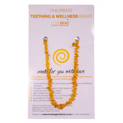 Honey Baltic Amber Teething Necklace - Nuggets