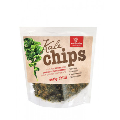 Earthshine Raw Kale Chips - Zesty Chill