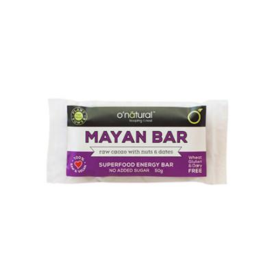 O'Natural Raw Chocolate Bar - Mayan Gold