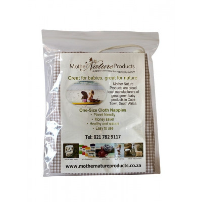 Mother Nature Wet Nappy Travel Bag