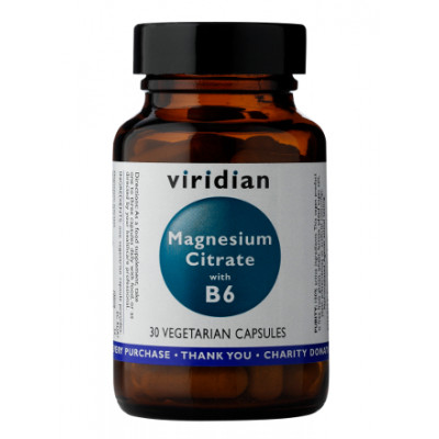 Viridian Magnesium Citrate with B6