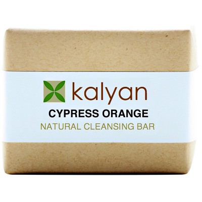 Kalyan Cypress & Orange Natural Cleansing Bar