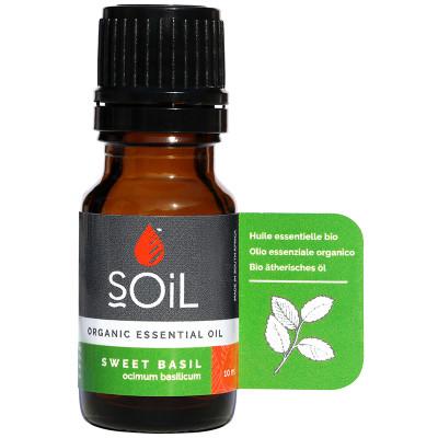 Soil Organic Basil Essential Oil