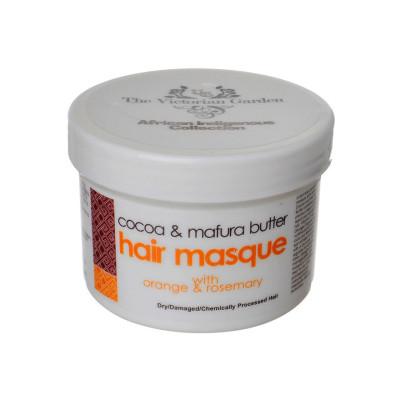 Victorian Garden Cocoa & Mafura Butter Hair Masque with Orange & Rosemary