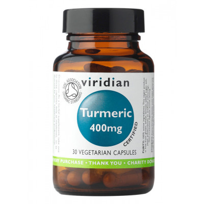 Viridian Organic Turmeric Capsules