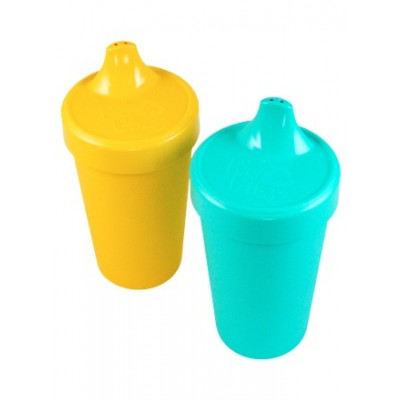 Re-Play Set of 2 Spill-Proof Cups