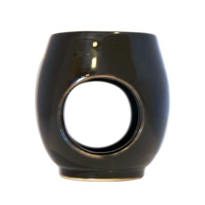 Indalo Black Egg-Shaped Ceramic Burner