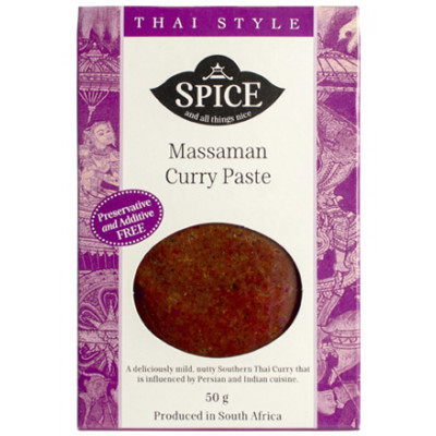Spice and All Things Nice Massaman Curry Paste