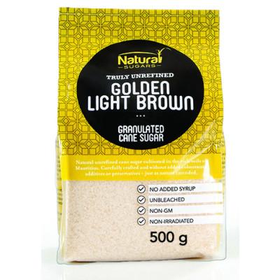 Natura Golden Light Brown Cane Sugar