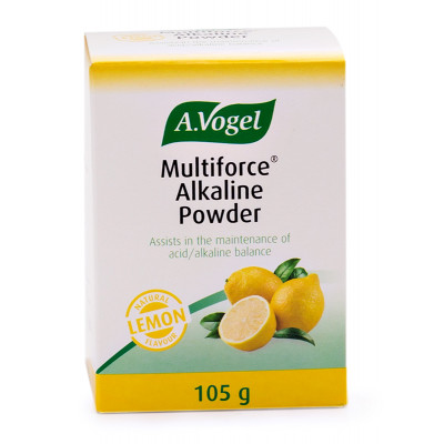 A Vogel Multiforce Alkaline Powder Lemon 105g