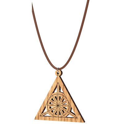 The Artists Sacred Geometry Fire Pendant