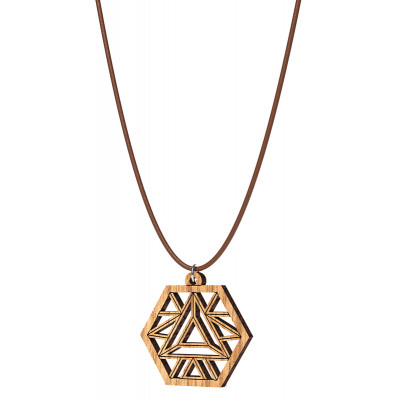 The Artists Sacred Geometry Elemental Pendant