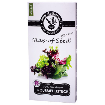 SOW Delicious Seed Slab - Gourmet Lettuce