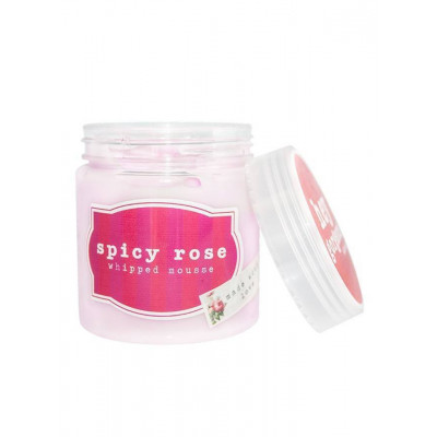 Hey Gorgeous Spicy Rose Whipped Body Mousse