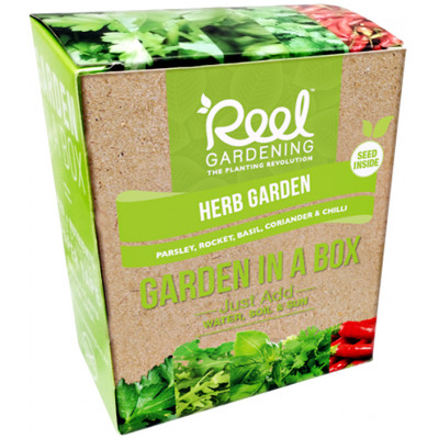 Reel Gardening Herb Garden in a Box