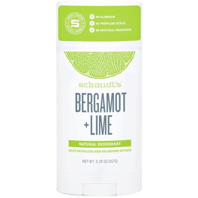 Schmidt's Bergamot + Lime Deodorant Stick