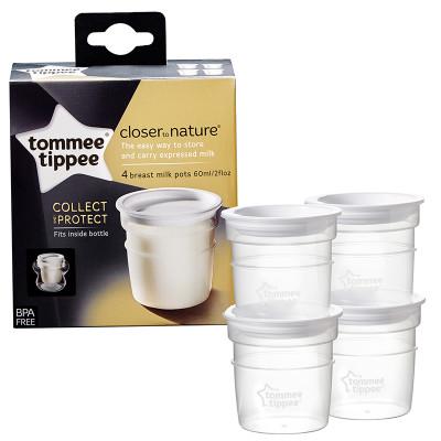 Tommee Tippee Breastmilk Storage Pots