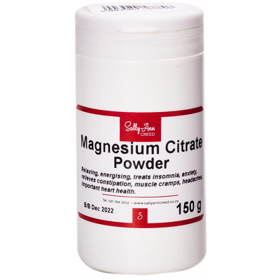 Sally Ann Creed Magnesium Citrate 250g
