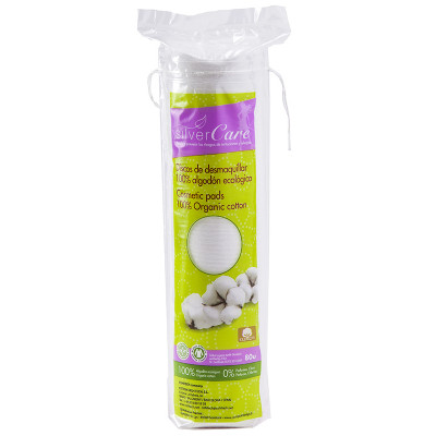 Silvercare Organic Cotton Round Cosmetic Pads