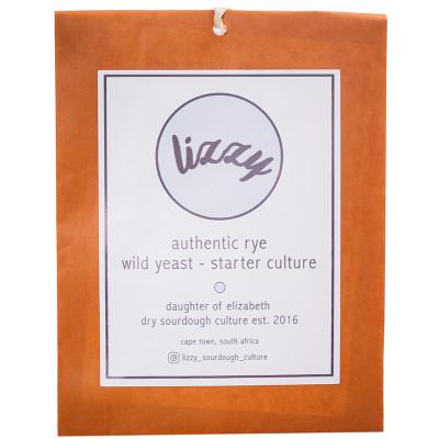 Lizzy Sourdough Starter Culture -Sachet