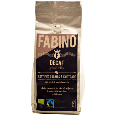 Fabino Organic Ground Coffee - Decaf