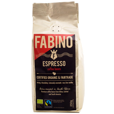 Fabino Organic Coffee Beans - Espresso