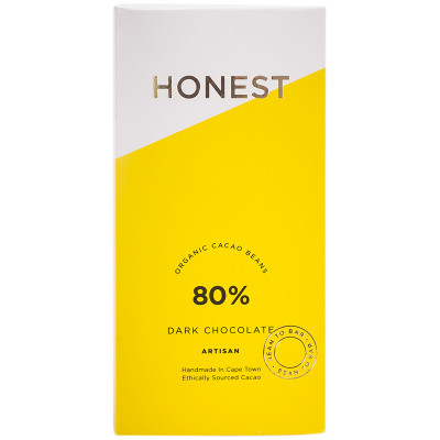 Honest Chocolate Slab 80%